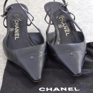 Chanel Slingback Heel